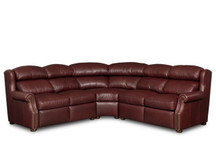 BY Armando Leather Sectional
