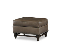BY Madigan Leather Ottoman