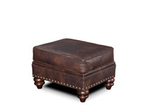 BY Carrado Leather Ottoman