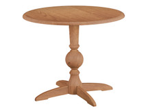 Glenwood Carissa Round Pedestal Dining Table