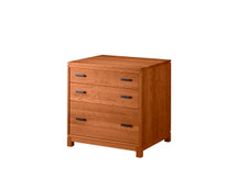Glenwood Crawford Three-Drawer File Chest