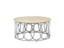 Villa New Orleans Round Coffee Table