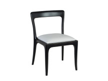 Monterey Home Essential Upholstered Chair - Leather Seat