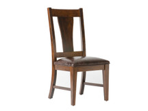 Palettes Blake Dining Side Chair - Leather Seat