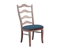 Palettes Lorraine Dining Side Chair - Fabric Seat