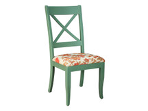 Palettes X-Back Dining Side Chair - Fabric Seat