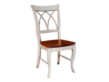 Palettes Adams Curved X-Back Dining Chair