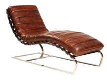 Unionworks Kingston Leather Chaise