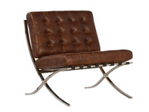 Unionworks Bauhaus Leather Chair - Vintage Light Brown