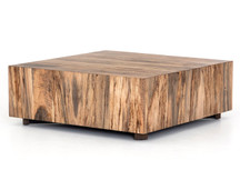 Fulton Nephi Square Coffee Table - Nougat