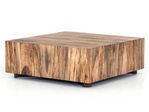 Fulton Nephi Square Coffee Table - Nougat