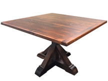 Silverlake Reclaimed Pine Square Dining Table (Clearance)