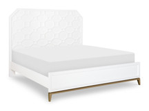 Chelsea Lattice Panel Bed