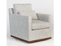 Alder & Tweed Denton Swivel Chair