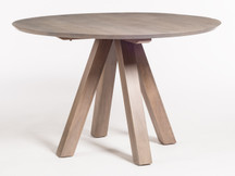 "Alder & Tweed Trenton 48"" Round Dining Table"