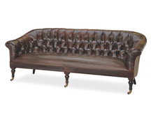 Carly Leather Sofa