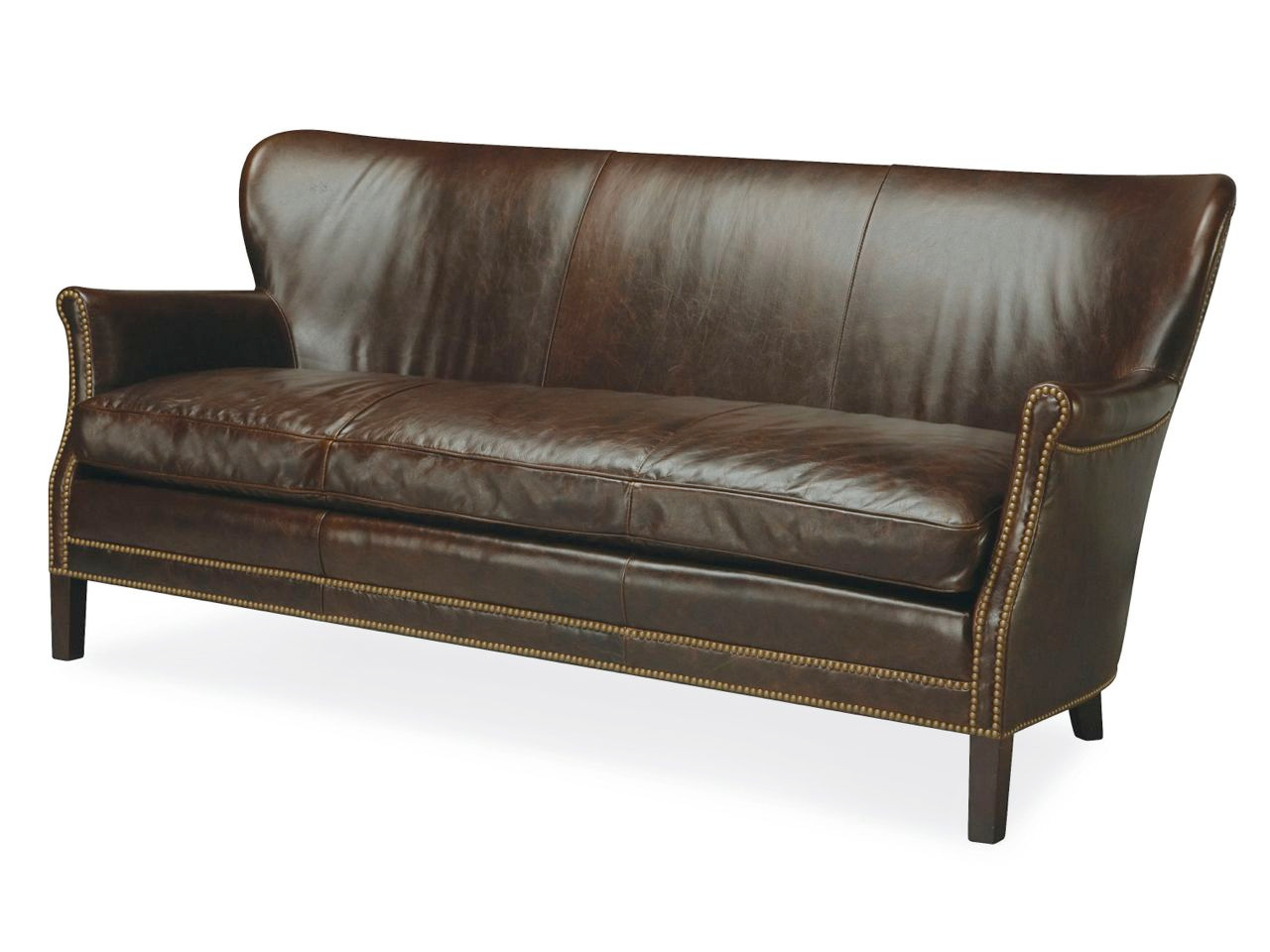 Webb Leather Apartment Sofa | Leather Apartment Sofas & Leather ...