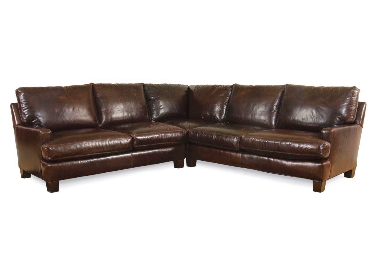 Aiden Leather Sectional Series | Leather Sectionals Sofas ...