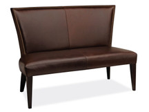 Aram Leather Dining Bench