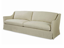 Landis Long Slipcovered Sofa