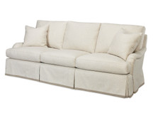 Batten Skirted Sofa