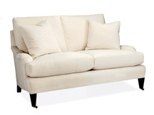 Batten Apartment Sofa with Casters