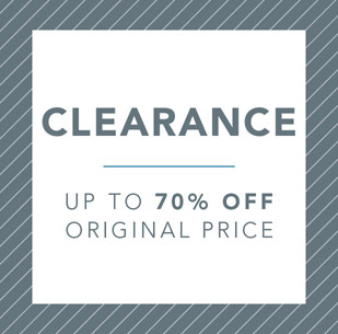 Clearance Sale - Up to 70% off original price