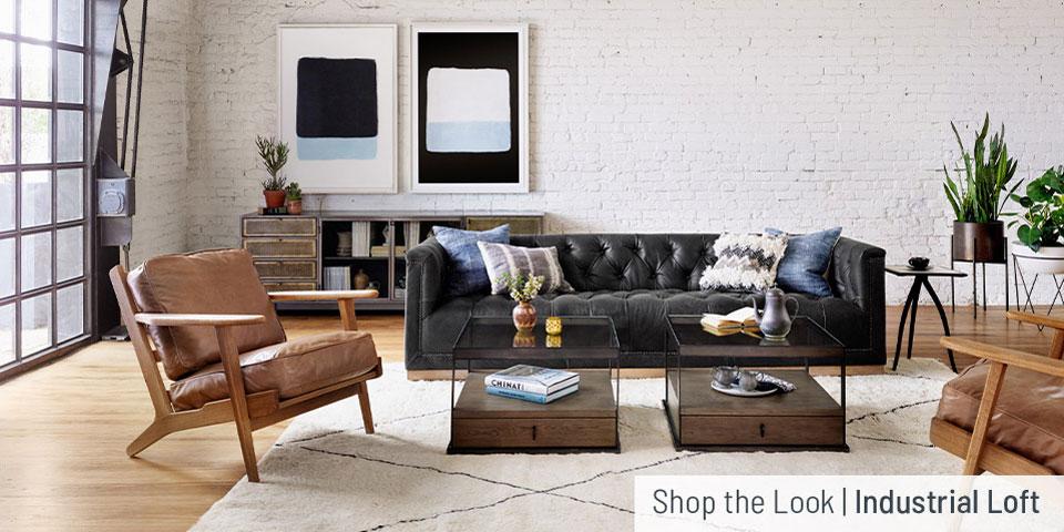 Shop the Look: Industrial Loft