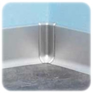 Internal Corner XI For Aluminium Skirting