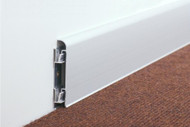 Aluminium Skirting With Wall Bracket For Concealed Fixing-2.5m