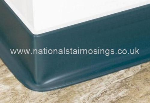 Flexible Pvc Sit On Skirting 2m National Stair Nosings