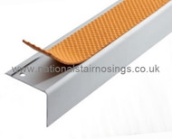 Exterior/Interior Anti Slip Square Stair Nosing Ramp Profile - 2.5m