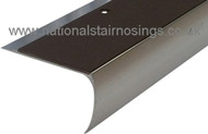 Anti Slip Semi Rounded Stair Nosings Step Edge Ramp Profile