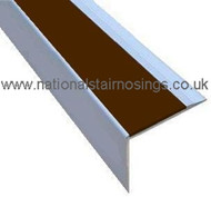 DDA Anti Slip Aluminium Stair Nosing Step Edge Ramp Profile