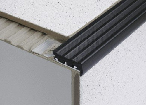 Heavy Duty Tile In Anti Slip Stair Edge Nosing For Tiles