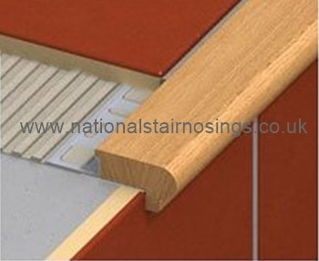 Wood Stair Nosing Step Edging For Tiles Stone Wood For