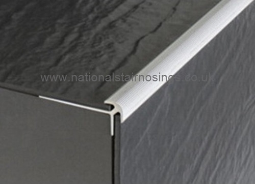 Aluminium Stair Nosing For Lino Lvt Amp Thin Tiles 2 7m