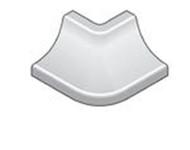 External Corner X For Stainless Steel Wall/Floor Junction For Bathroom