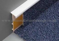 Carpet PVC Skirting With Bridge - 2.5m