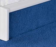 End Cap For PVC Carpet Skirting With Bridge