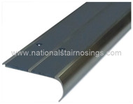 Double Channel Rounded Anti Slip Stair Nosing