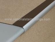 Bullnose Non Slip Stair Nosings For Vinyl ,Lino