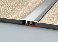 Aluminium Threshold Connection Profile For 4-7mm High Flooring
