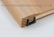Solid Wood Hardwood End Bar Moulding