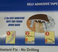 Self Adhesive Fixing Tape For Aluminium Threshold Strip - 2.7m