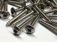 Stainless Steel  Self Tapping Screws For GRP Fibreglass-(each)