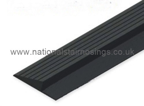 Pvc Ramp Edging With A Ribbed Surface 2m National Stair Nosings Amp Floor Edgings