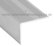 45x40mm Aluminium Step Edging Profile