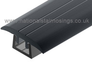 PVC  T- Profile For 5-16 mm Heights-2.7m