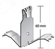 Stainless Steel Fixing clip for Alumnium Expansion Joint Cover